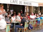 Cafe du Marche, rue Cler - Paris, France