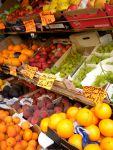 Fresh Fruit Stand in Montmartre - Paris, France