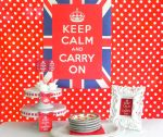 Keep Calm Tea Party