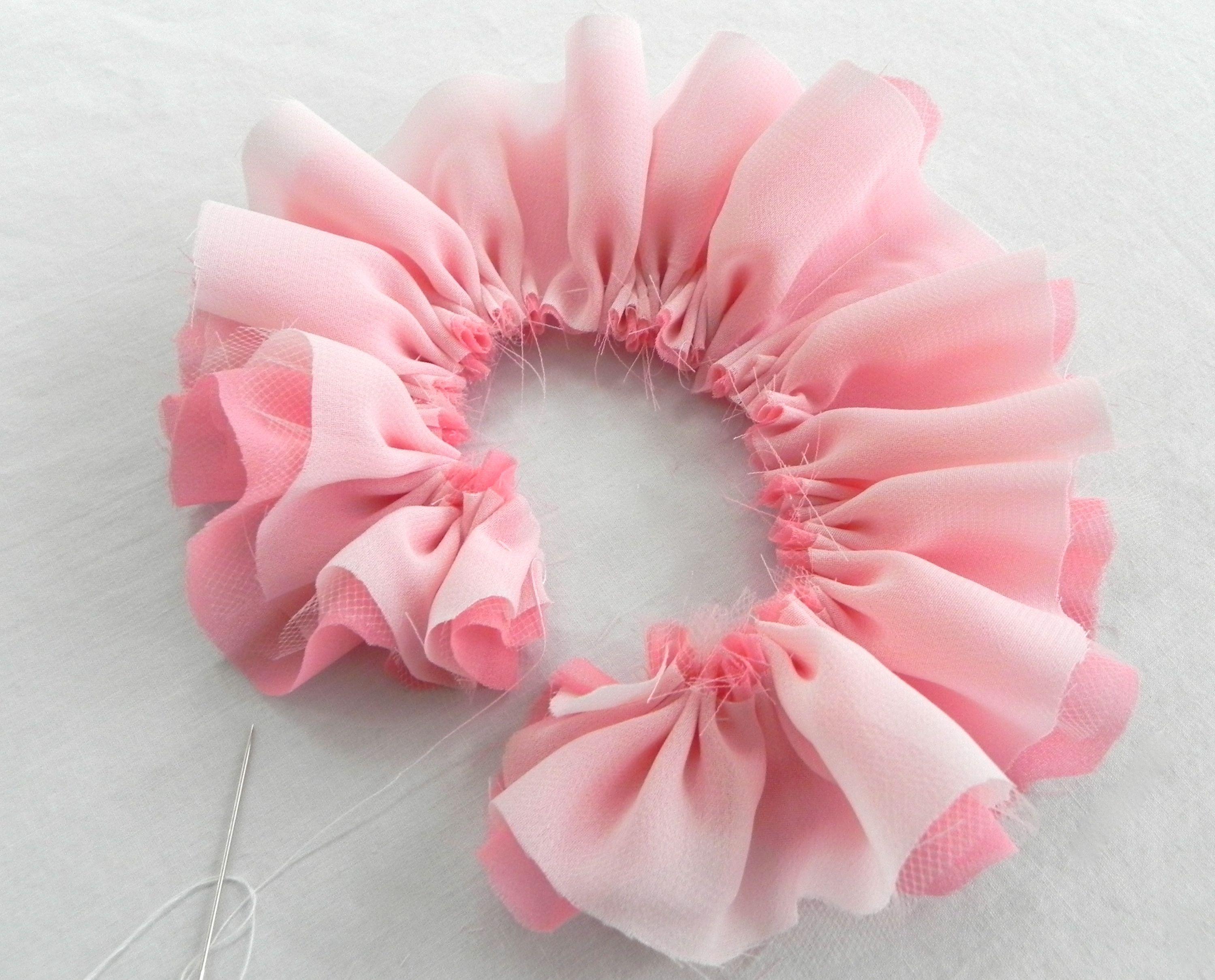 Сделать цветок своими руками ткани