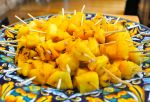 Grilled Pineapple Mini Skewers