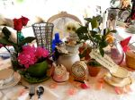 Miss Party's Mad Tea Table Collage Centerpiece