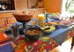 Summer Fiesta Food Table