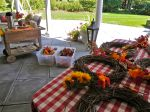 Miss Party's Autumn Wreath Decorating Party