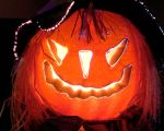 Miss Party's Halloween Jack o' Lantern