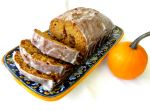 Miss Party's Frosted Pumpkin Raisin Bread