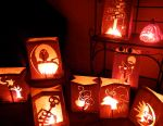 Miss Party's Halloween Luminaries