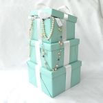 Tiffany's-Inspired 'Tower of Gifts' Centerpiece