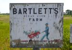 Bartlett's Farm sign, Nantucket