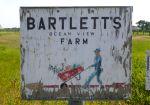 Bartlett's Farm sign, Nantucket