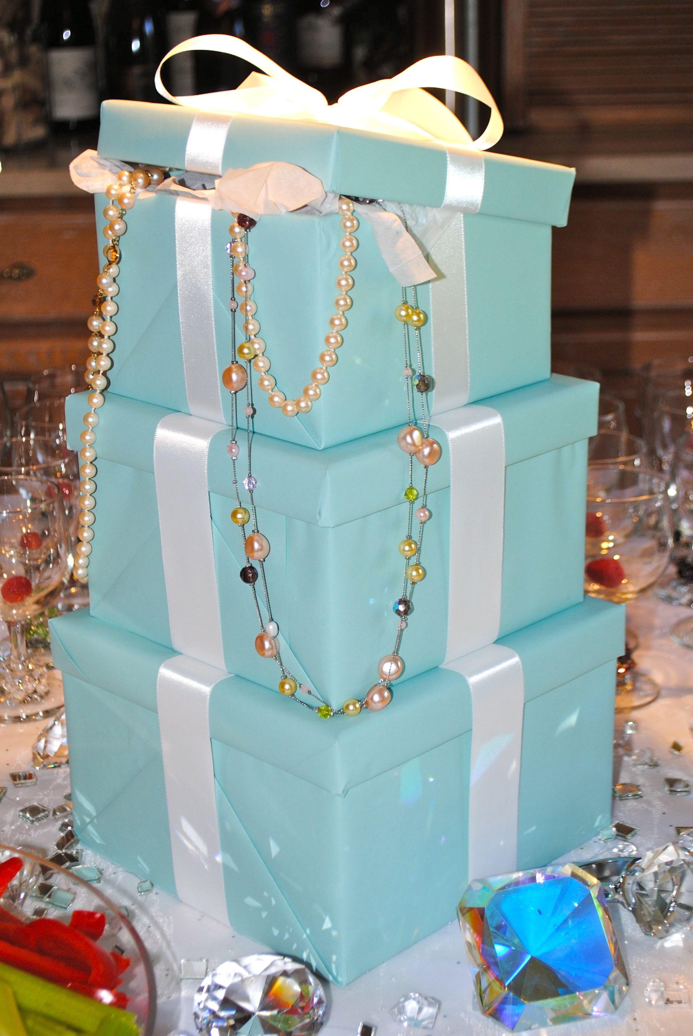Tiffany Blue Party Centerpieces